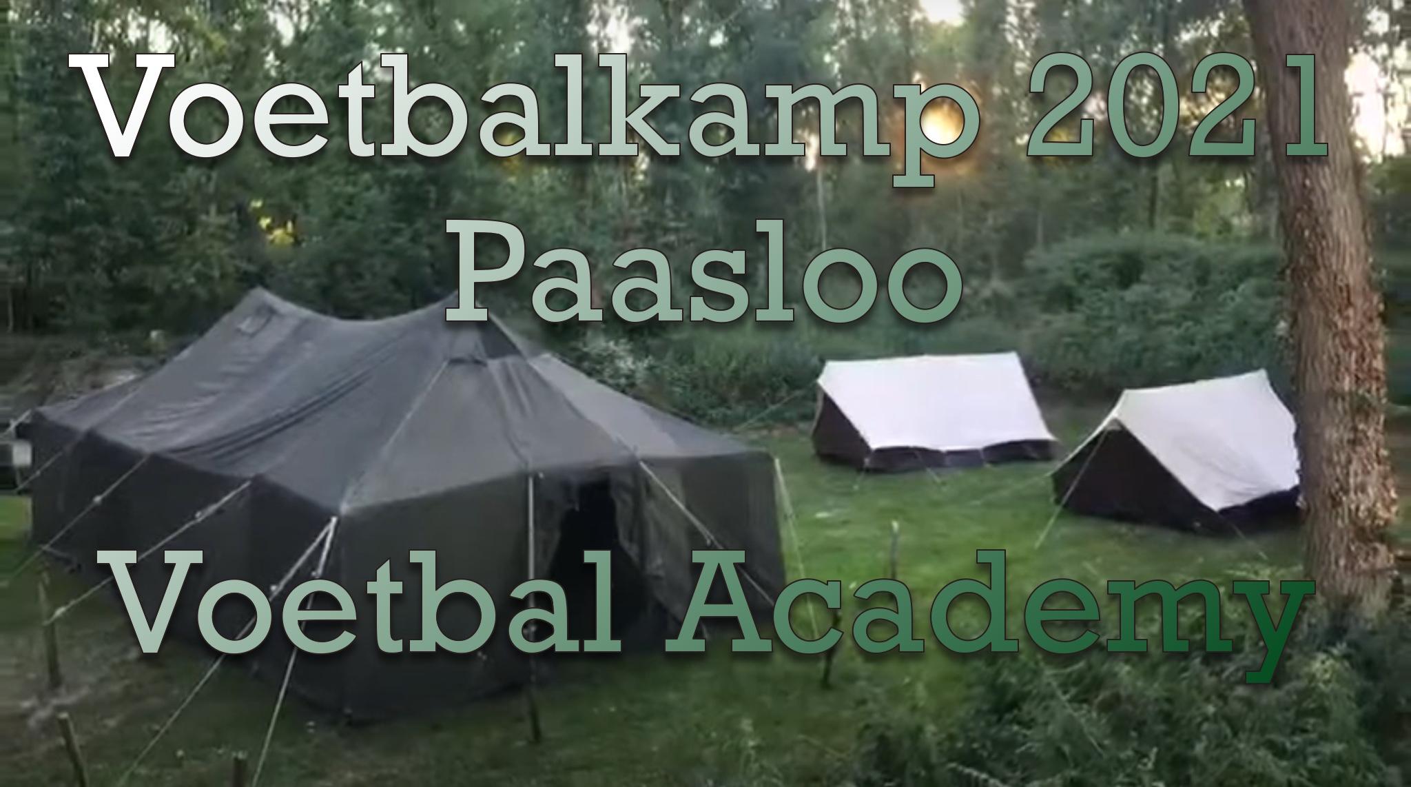 Voetbalkamp 2021 Paasloo