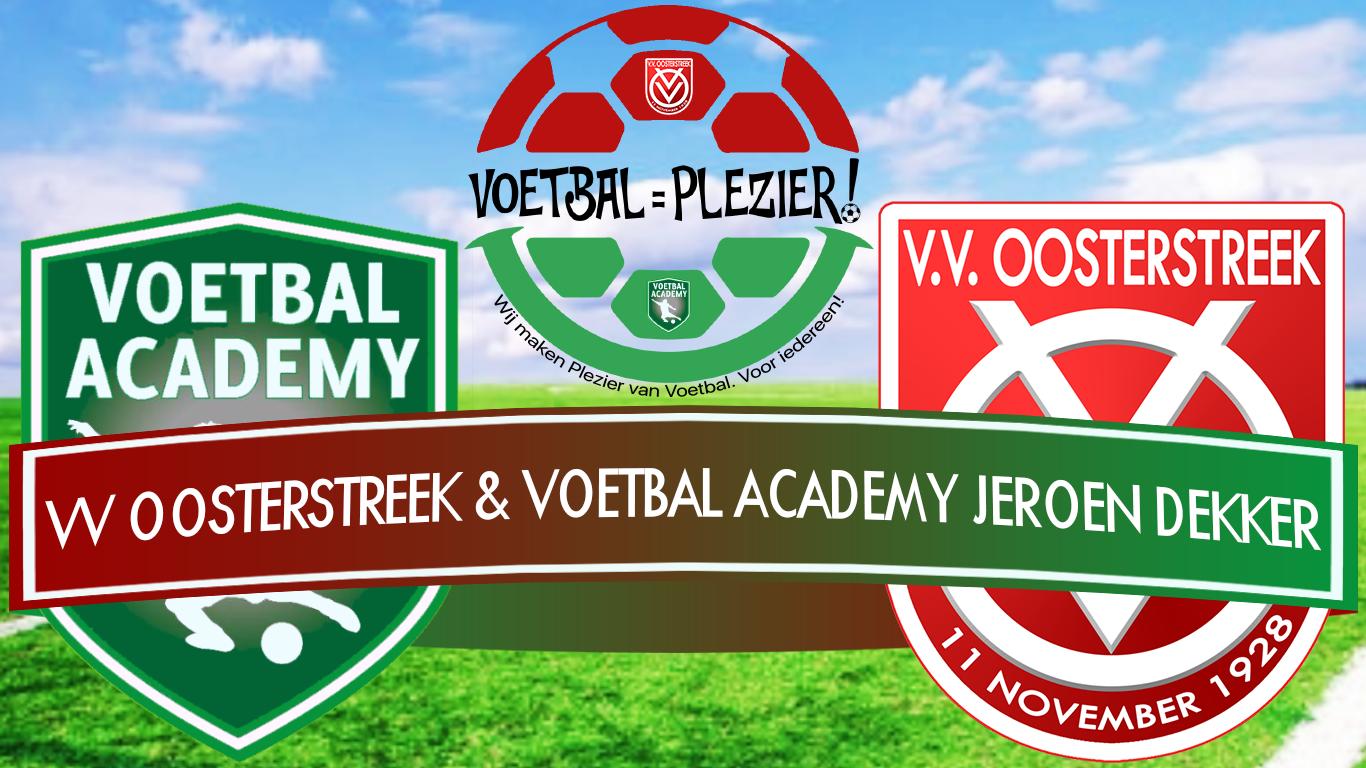 Jeugdtraining Oosterstreek door Voetbal Academy