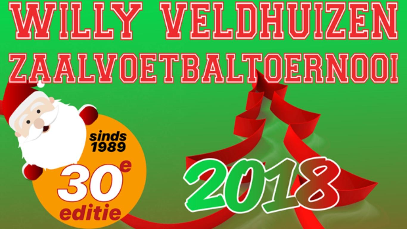 Oldeholtpade wint Willy Veldhuizen Kerstzaalvoetbaltoernooi