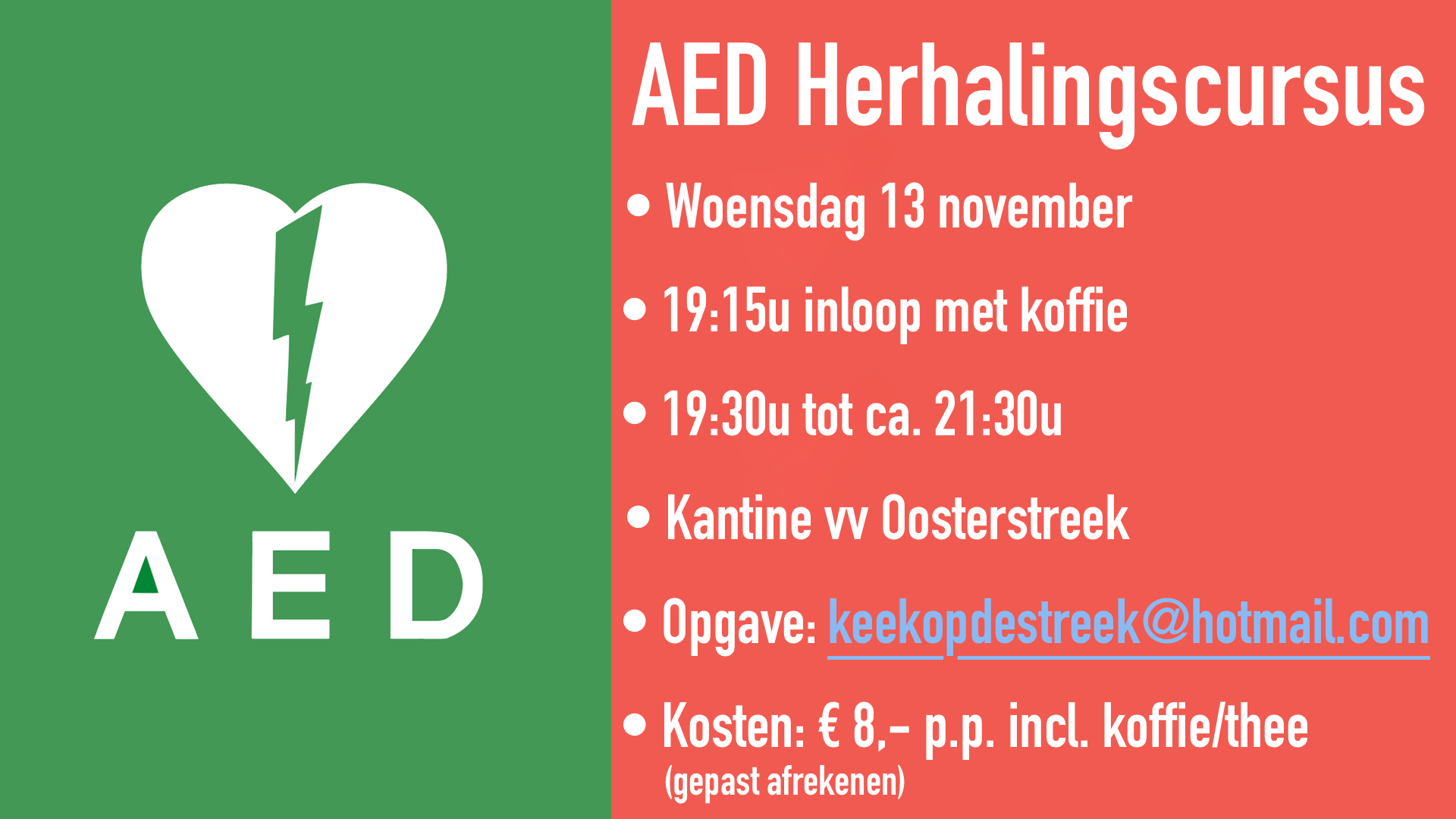 AED Herhaling