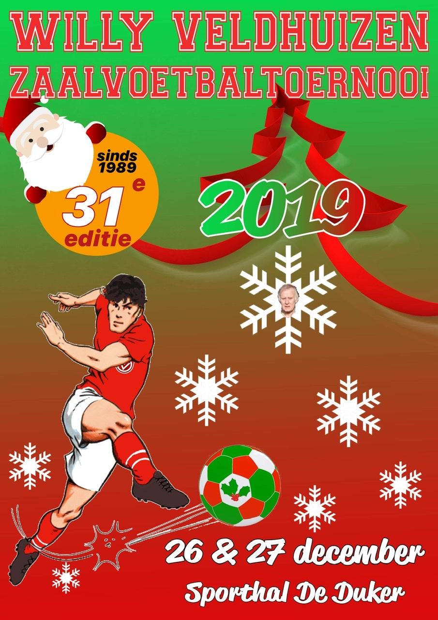 WV Zaalvoetbaltoernooi 2019