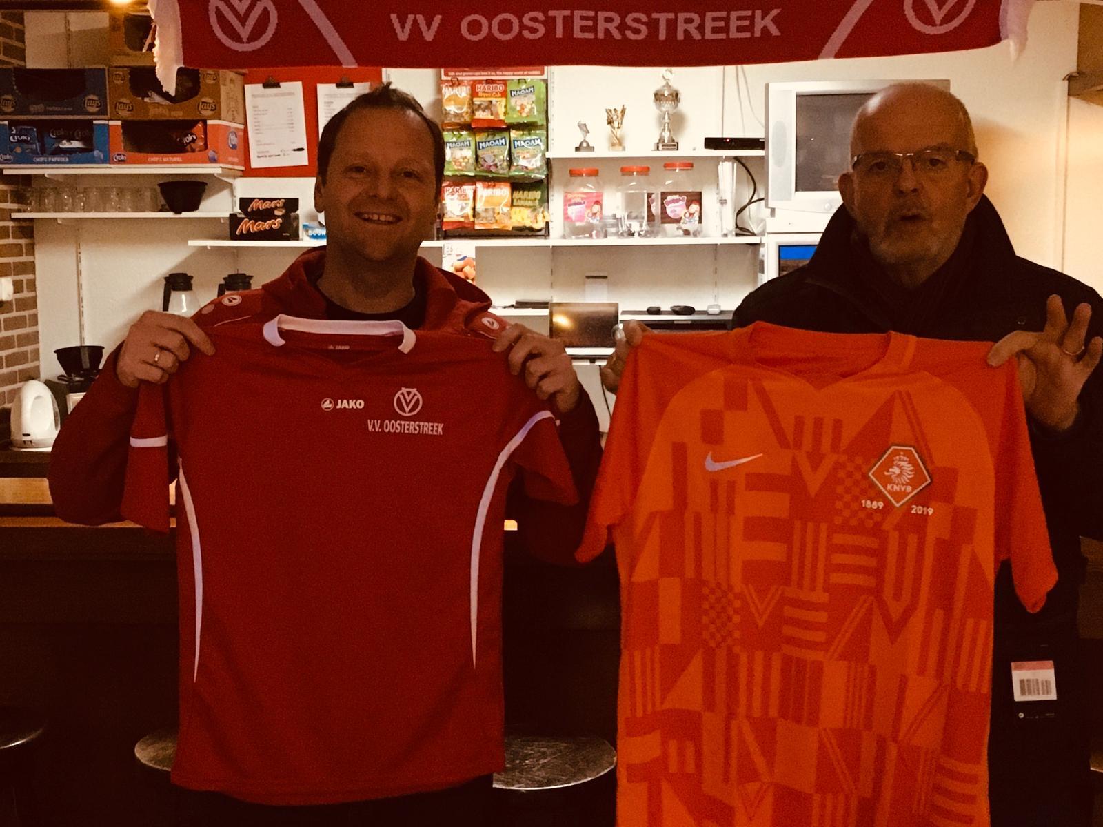 Shirtjeruil Oosterstreek KNVB
