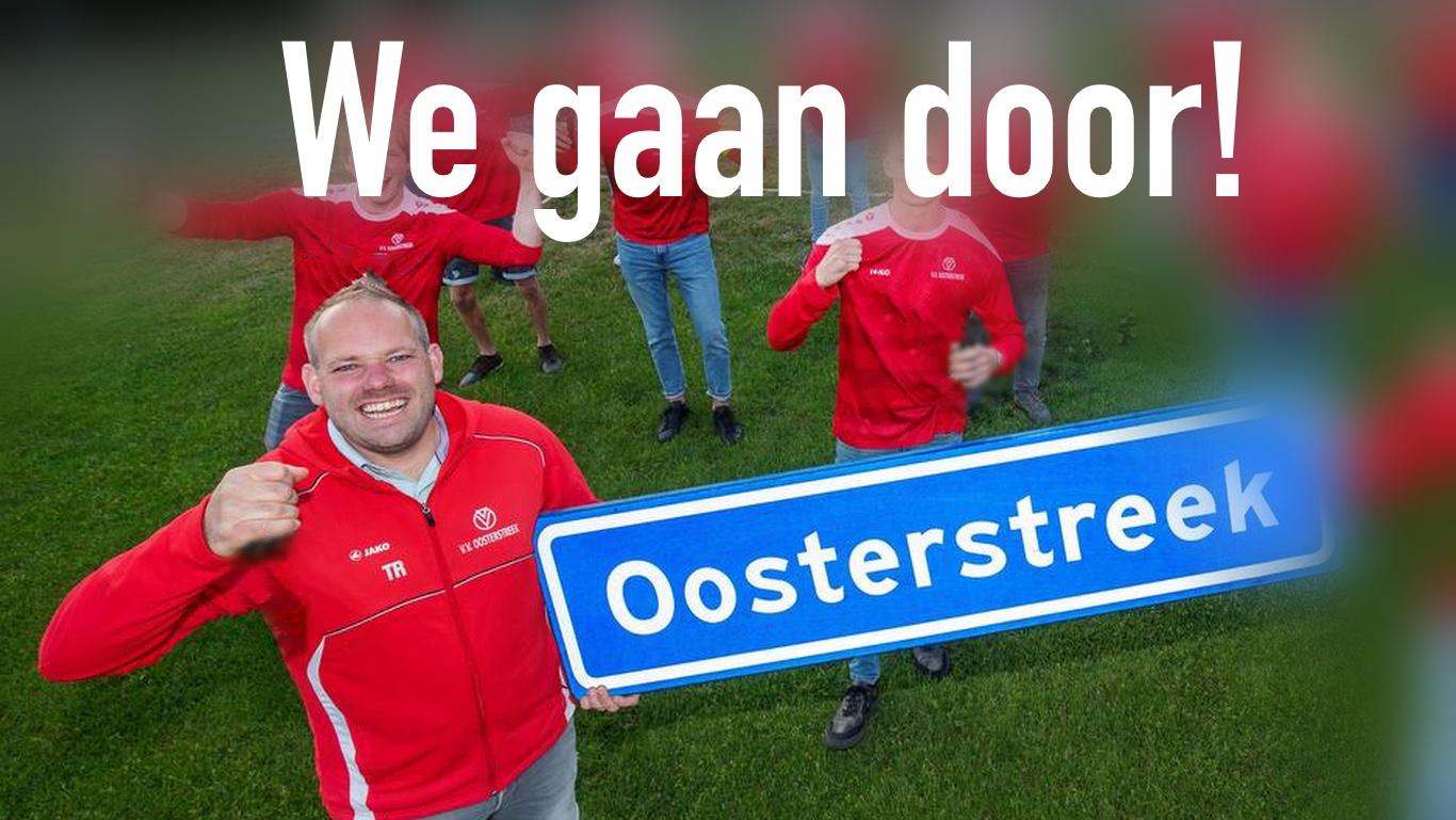 Oosterstreek en Jeroen Dekker samen naar 2022