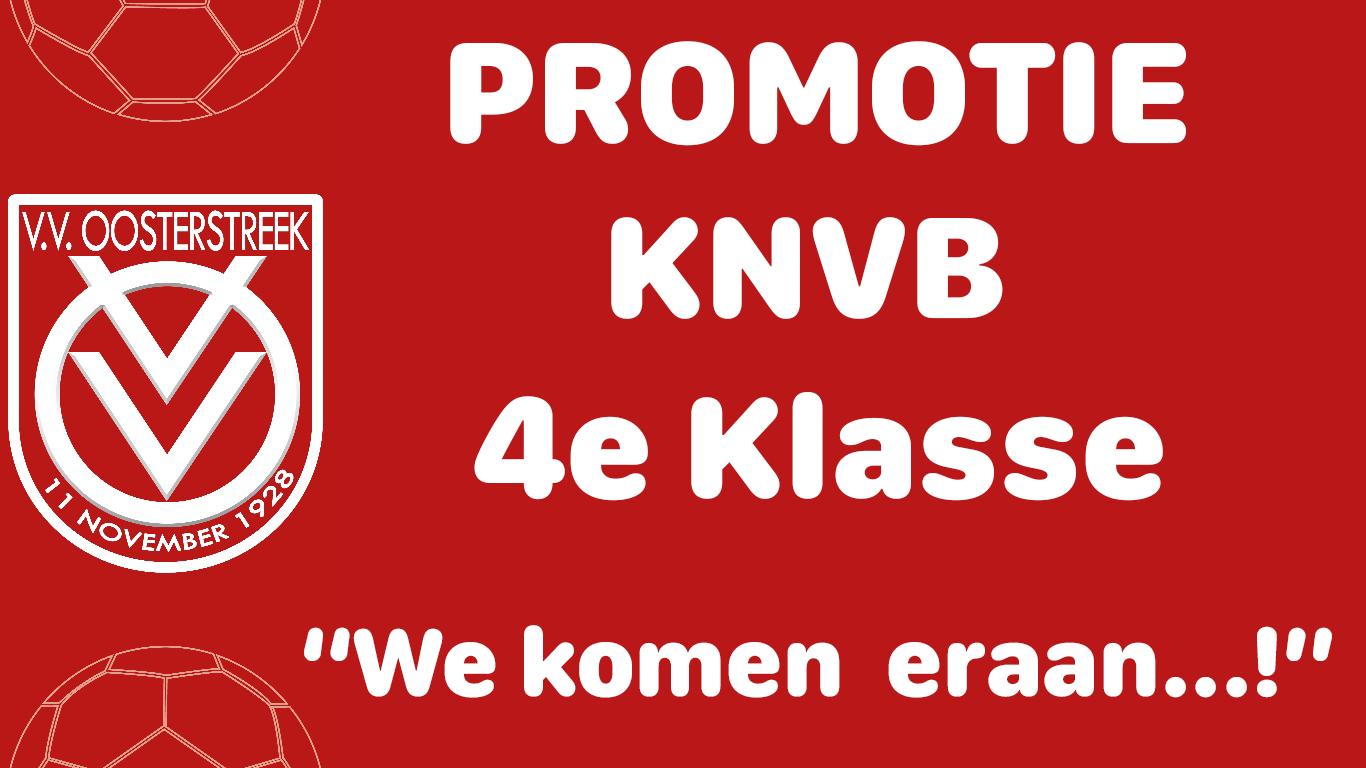 Promotie 4e Klasse KNVB